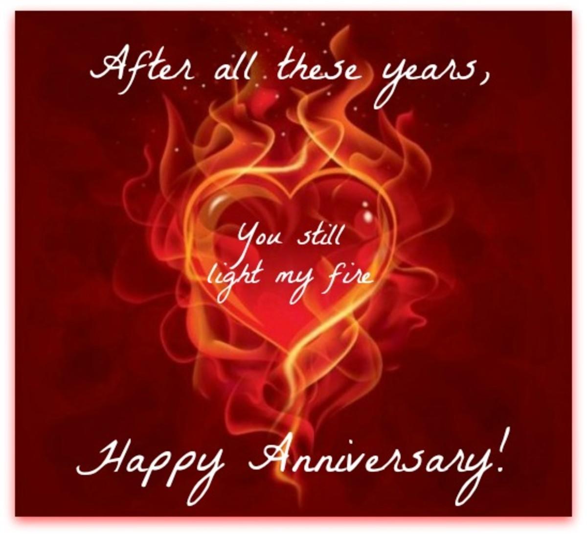Sexy Anniversary Wish