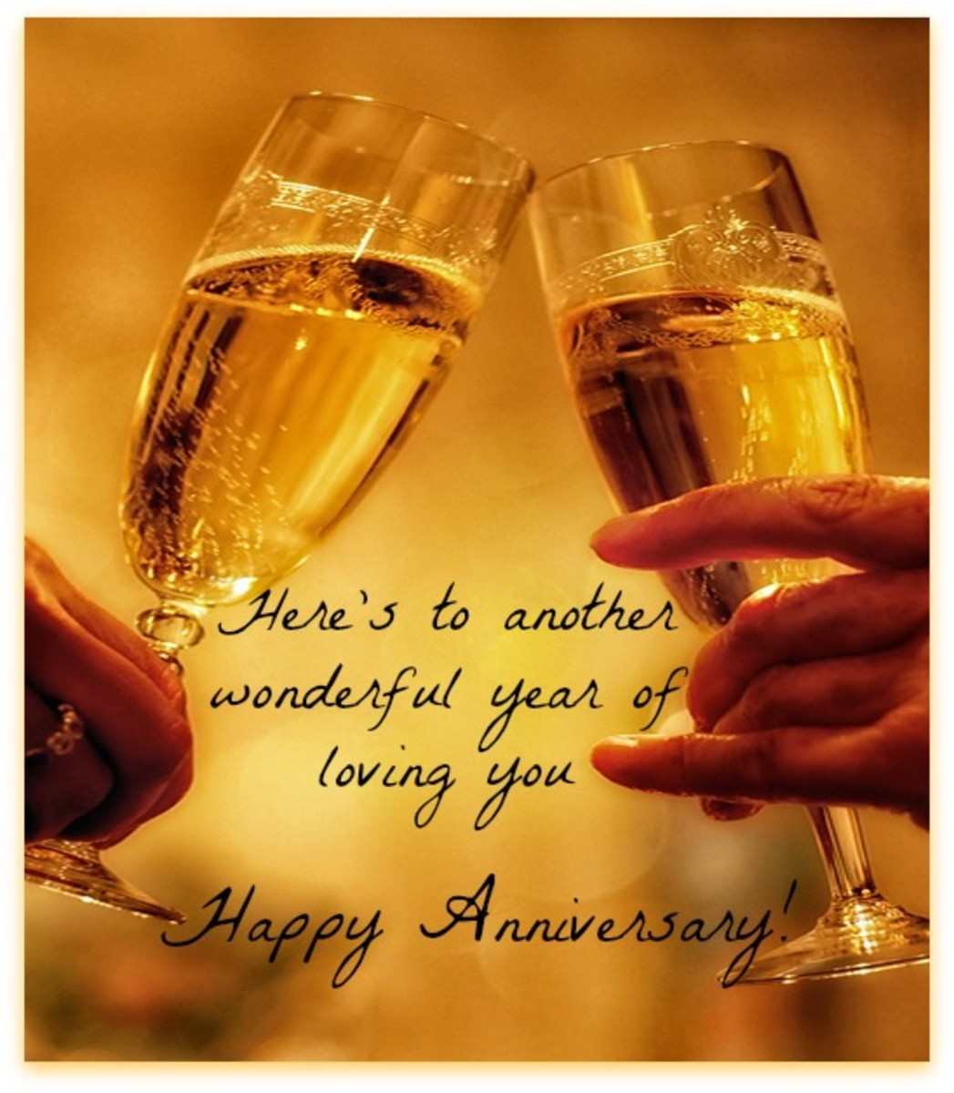 Wedding Anniversary Wish