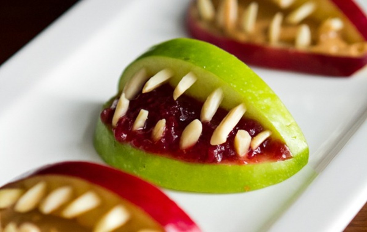 Apple Monster Teeth