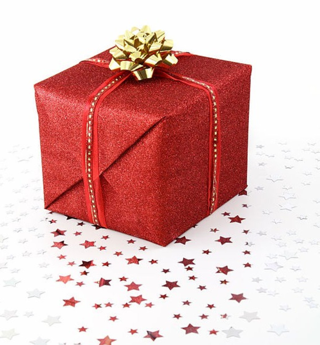 The sight of presents under the tree fills young and old with anticipation