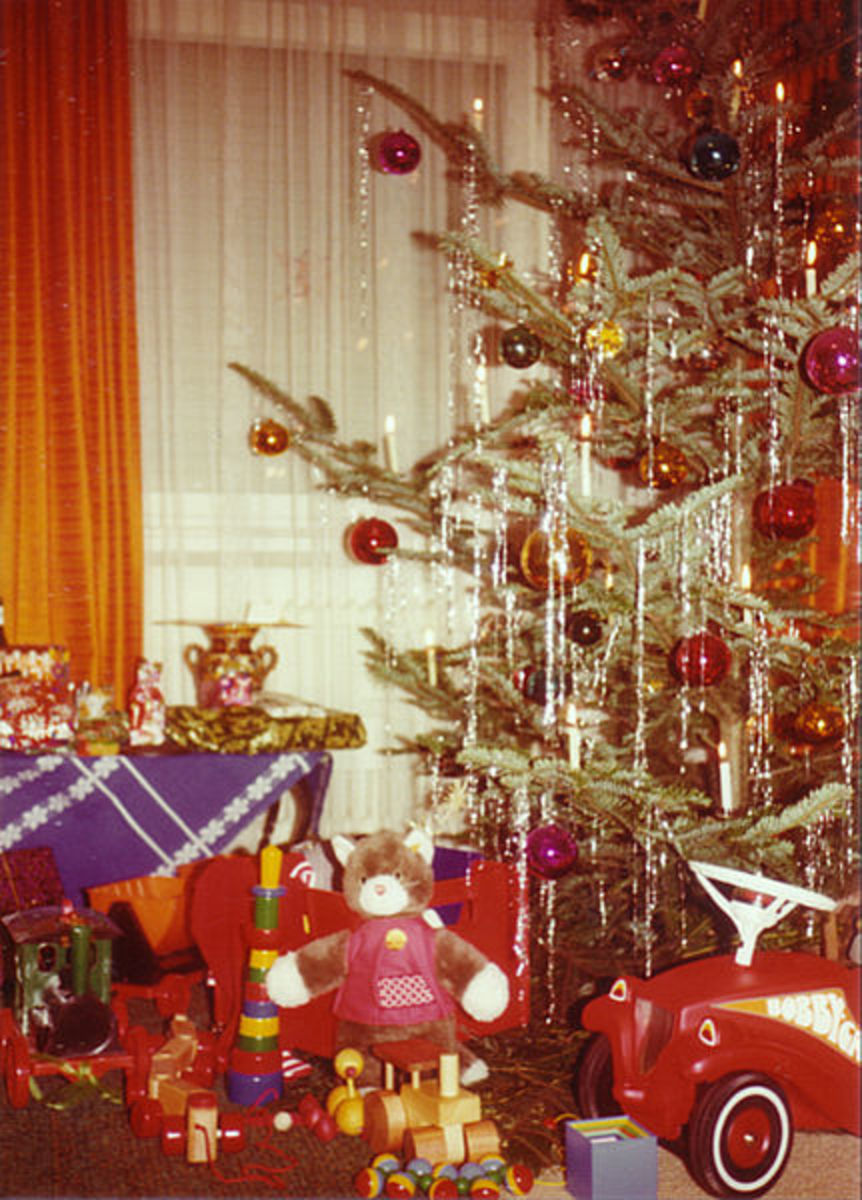 A Christmas Tree in Germany
