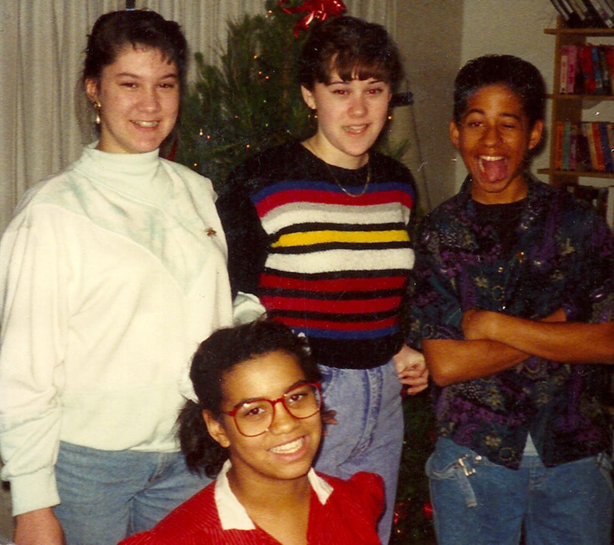 Group picture from 1991.
