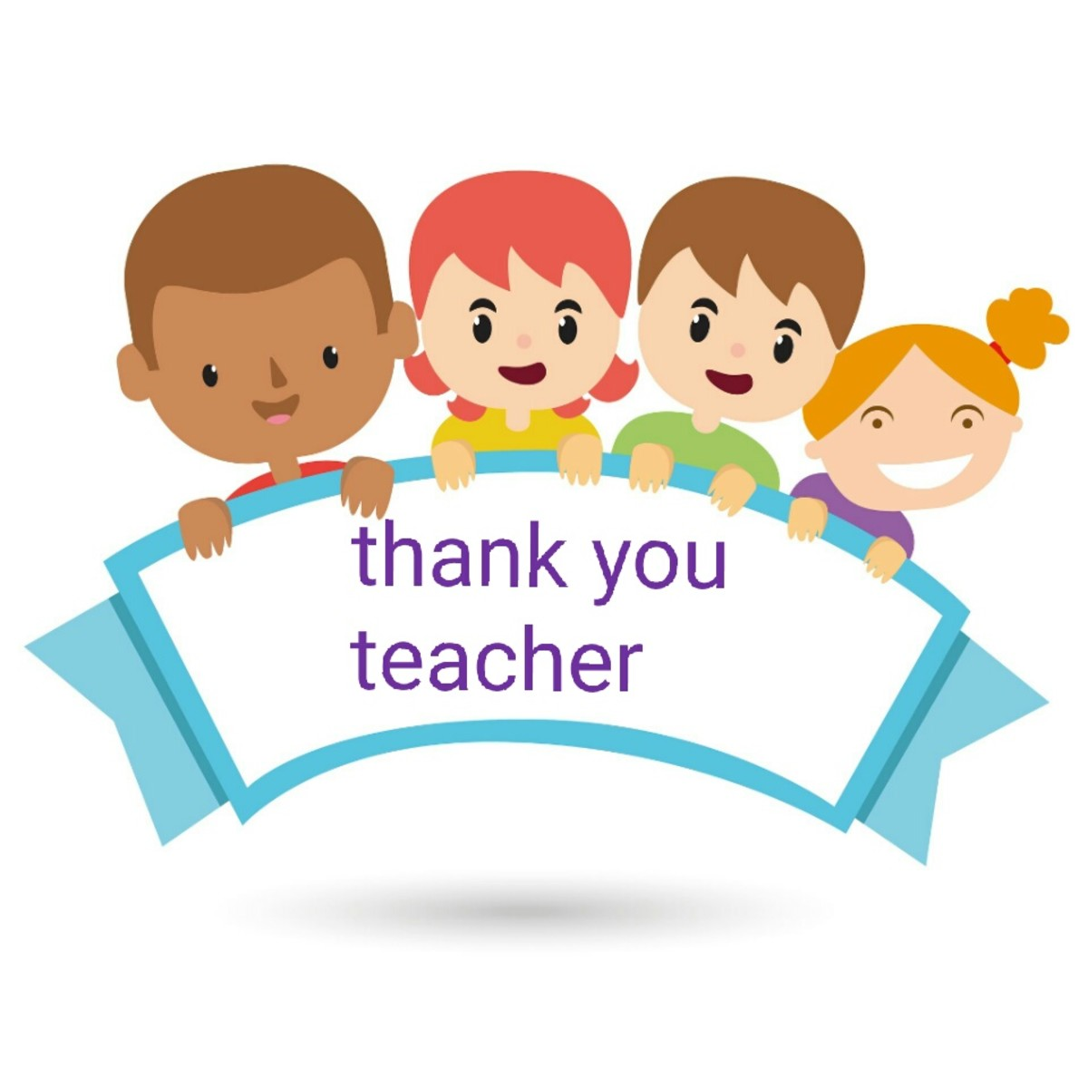 Many parents forget to encourage their children to thank teachers, relatives, and others that help them along.