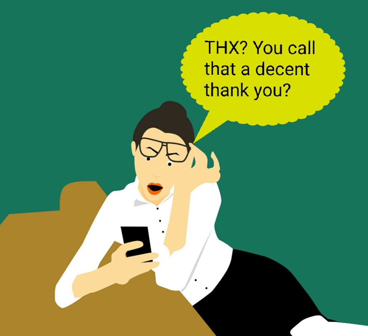 """For many, abbreviated messages of gratitude like """"thx"""" just don't cut it."""