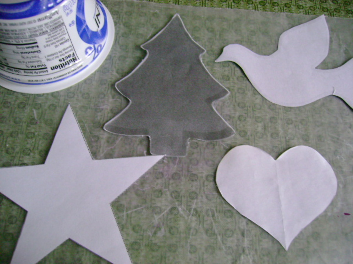 stencils or templates for ornaments
