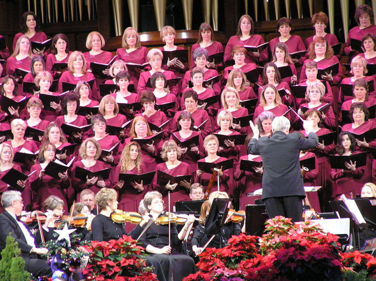 You can't go wrong with the Mormon Tabernacle Choir for Christmas music