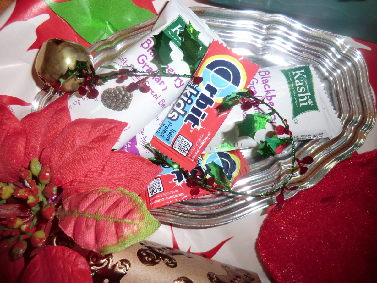 Another last minute grocery/convenient store idea - take a bunch of candy, gum, magazines, put them on a platter or a in a fancy box and hope no one notices your last ditch effort... at least you gave them something!