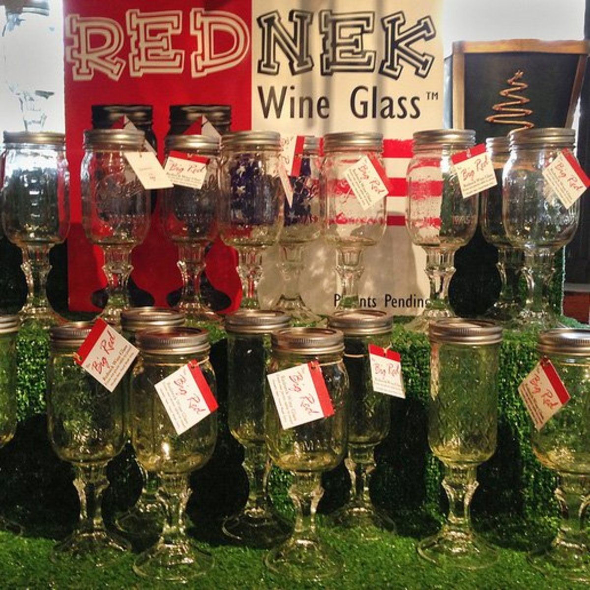 Rednek Wineglasses
