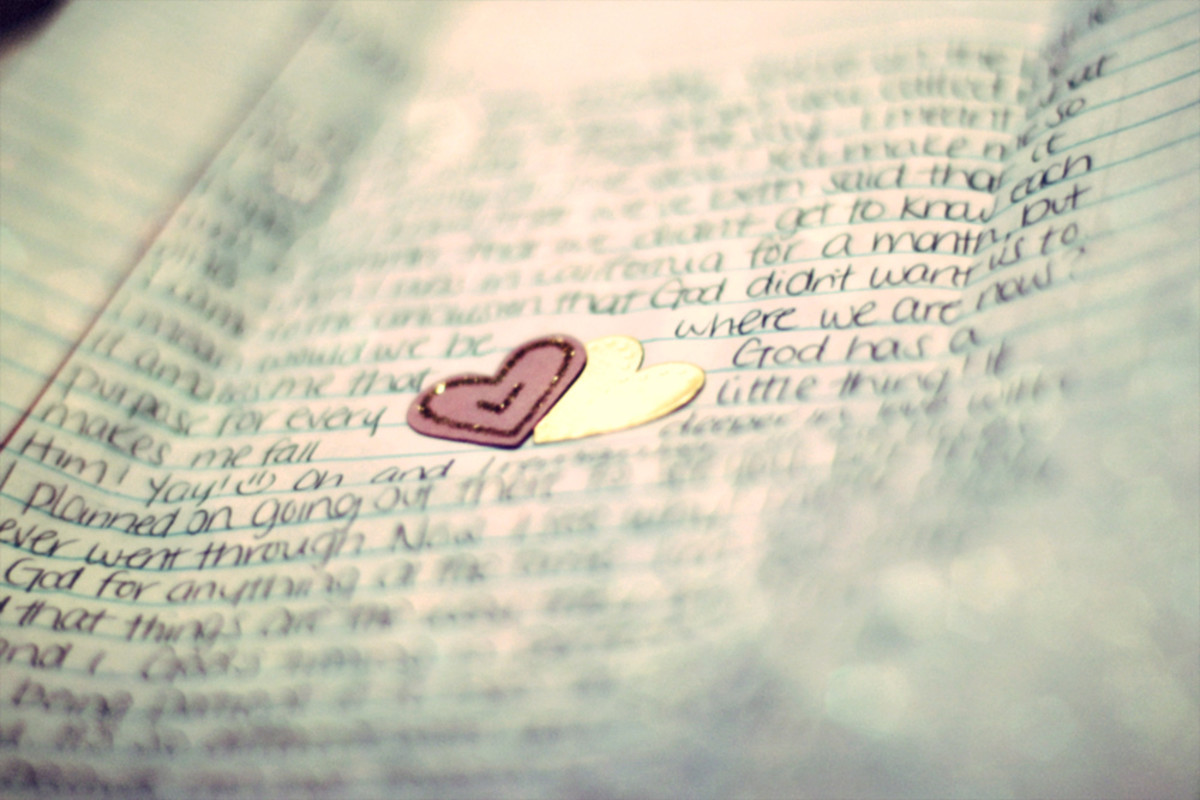 A handwritten note or letter is a great way to reaffirm your partner's importance in your life.
