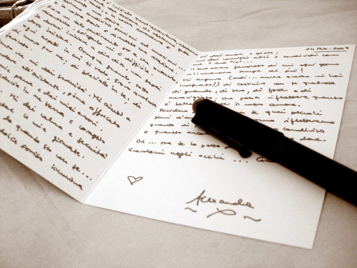 It's a good idea to draft your note or letter before selecting your stationary.