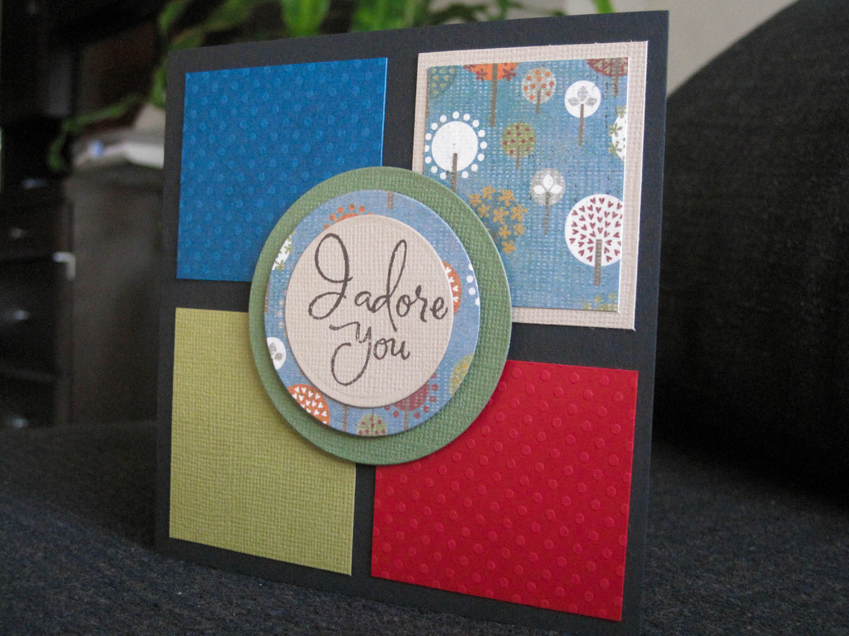 Choose a masculine card for your boyfriend or husband.