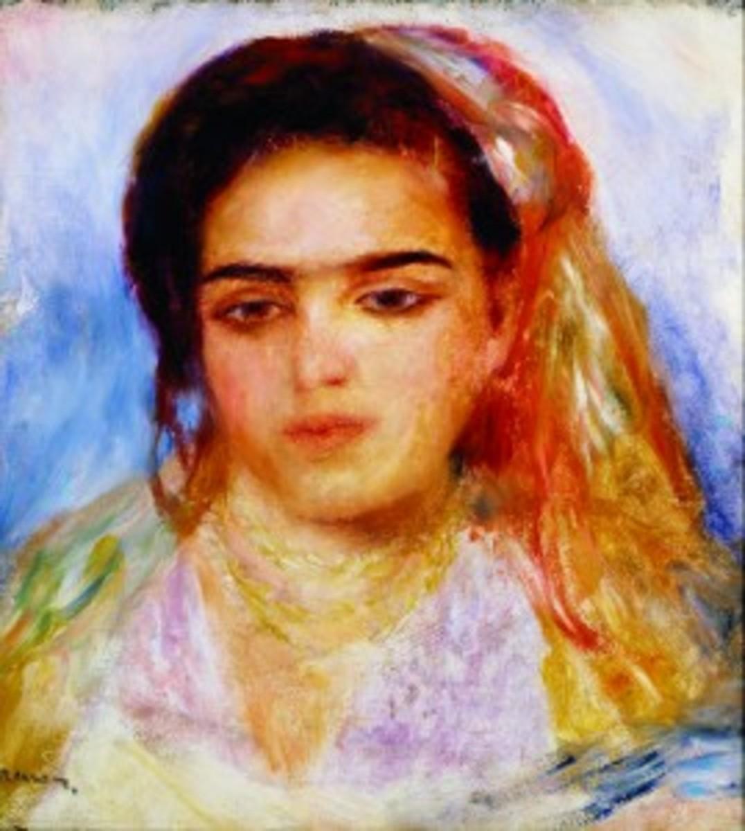 "Renoir's ""Young Algerian Girl"""