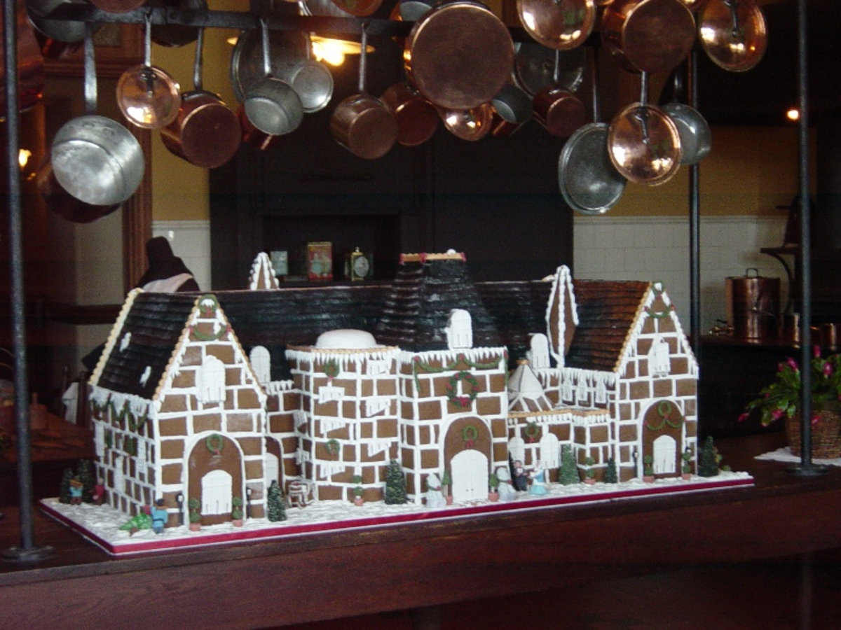 Biltmore Estate Gingerbread House