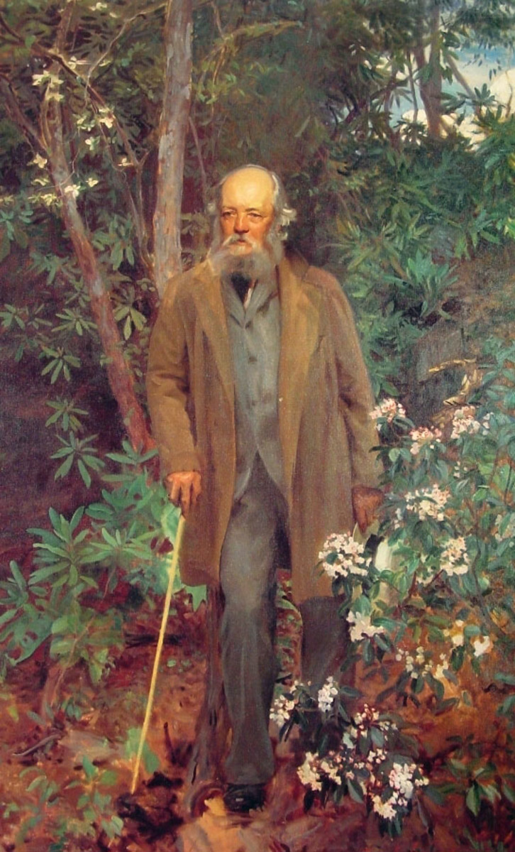 Frederick Law Olmsted - Landscape Architect of Biltmore Estate, known as the father of American landscape architecture.