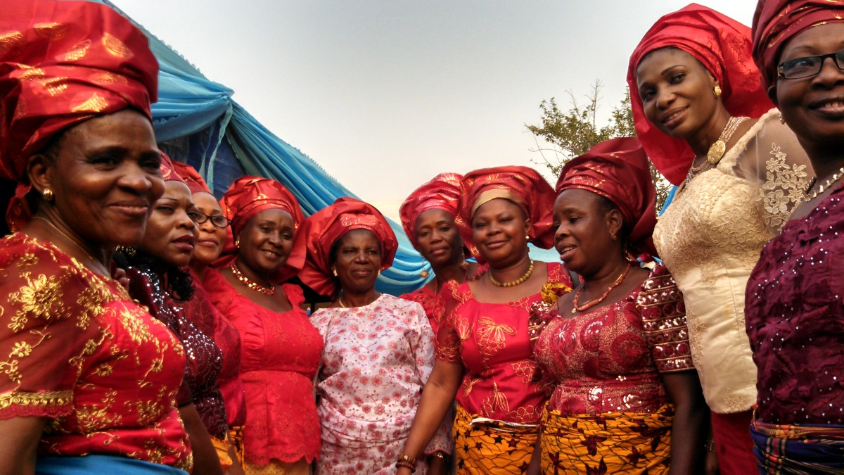 The formidable women in the bride's family. They decide whether the engagement will take place or not.