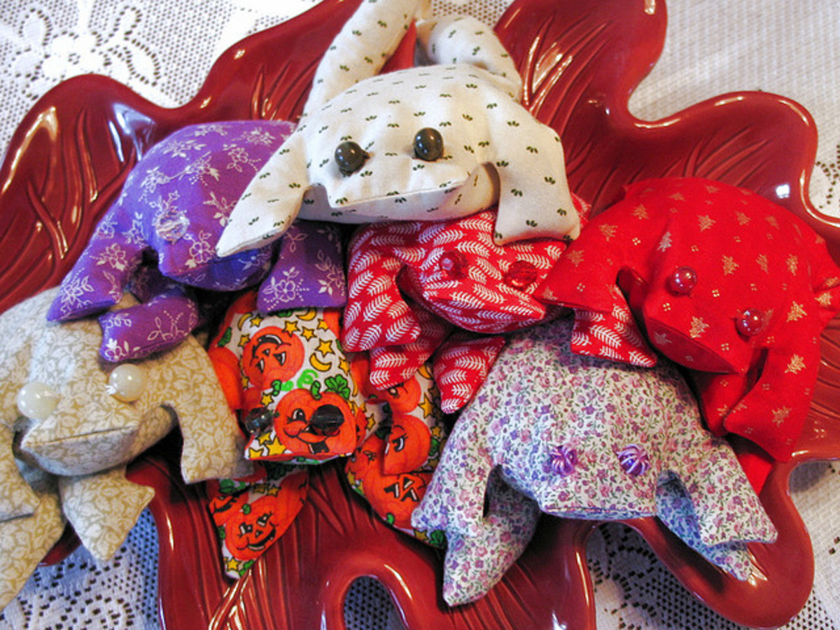 Hand Made Gifts can be Stash Busters
