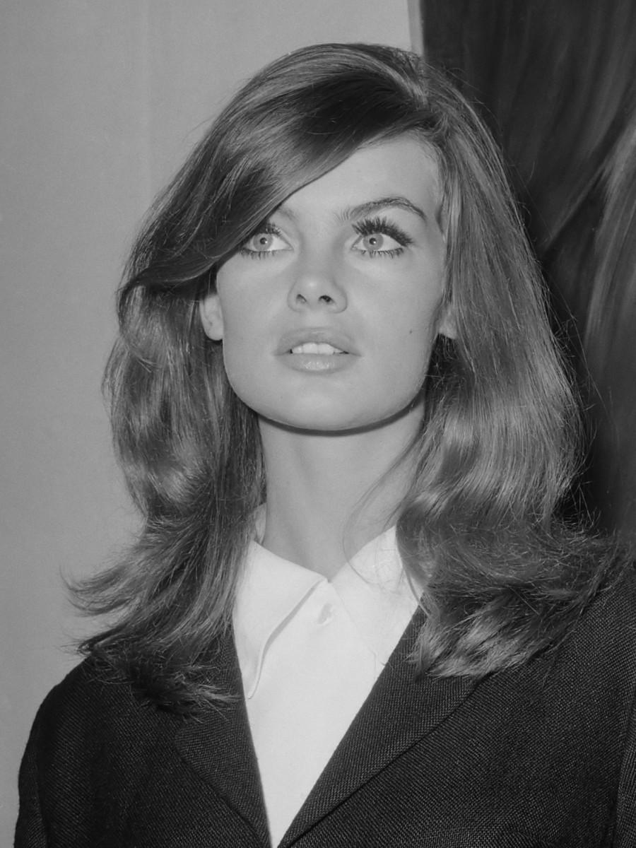 Joost Evers/Anefo, Jean Shrimpton 1965.