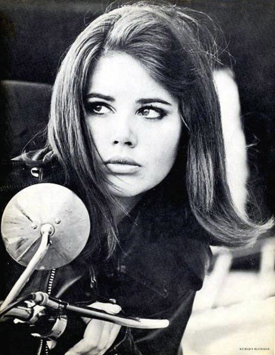 Colleen Corby in the 1960s (public domain).