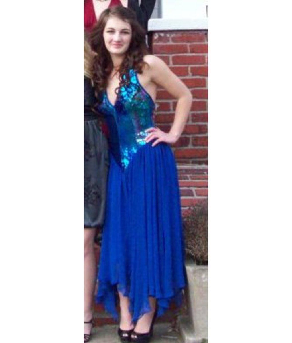 Vintage disco dress!