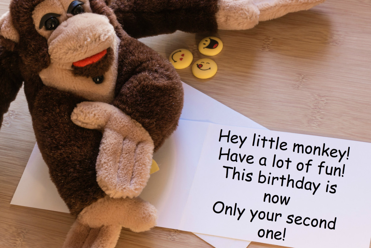 Since the birthday person is so young, it's ok to write them a goofy and creative message. Get whimsical!