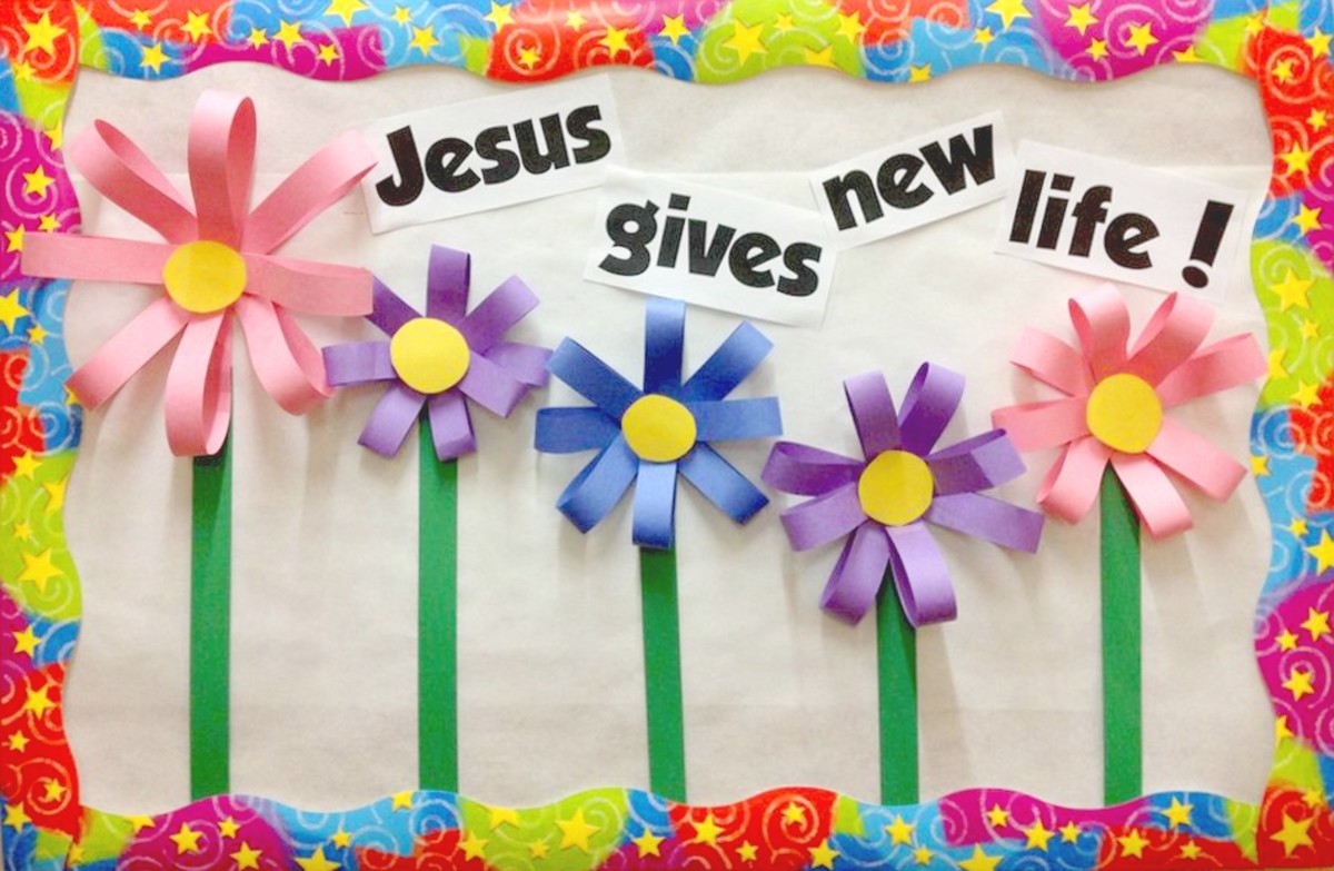 Jesus Gives New Life!