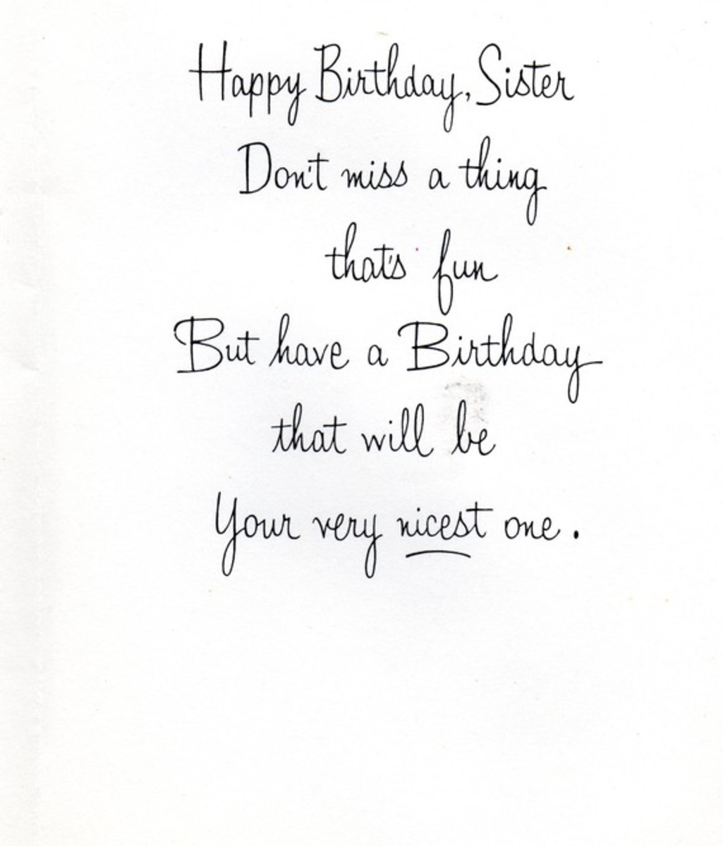 Happy Birthday To A Special Sister Quotes: Happy Birthday Wishes And Quotes For Your Sister