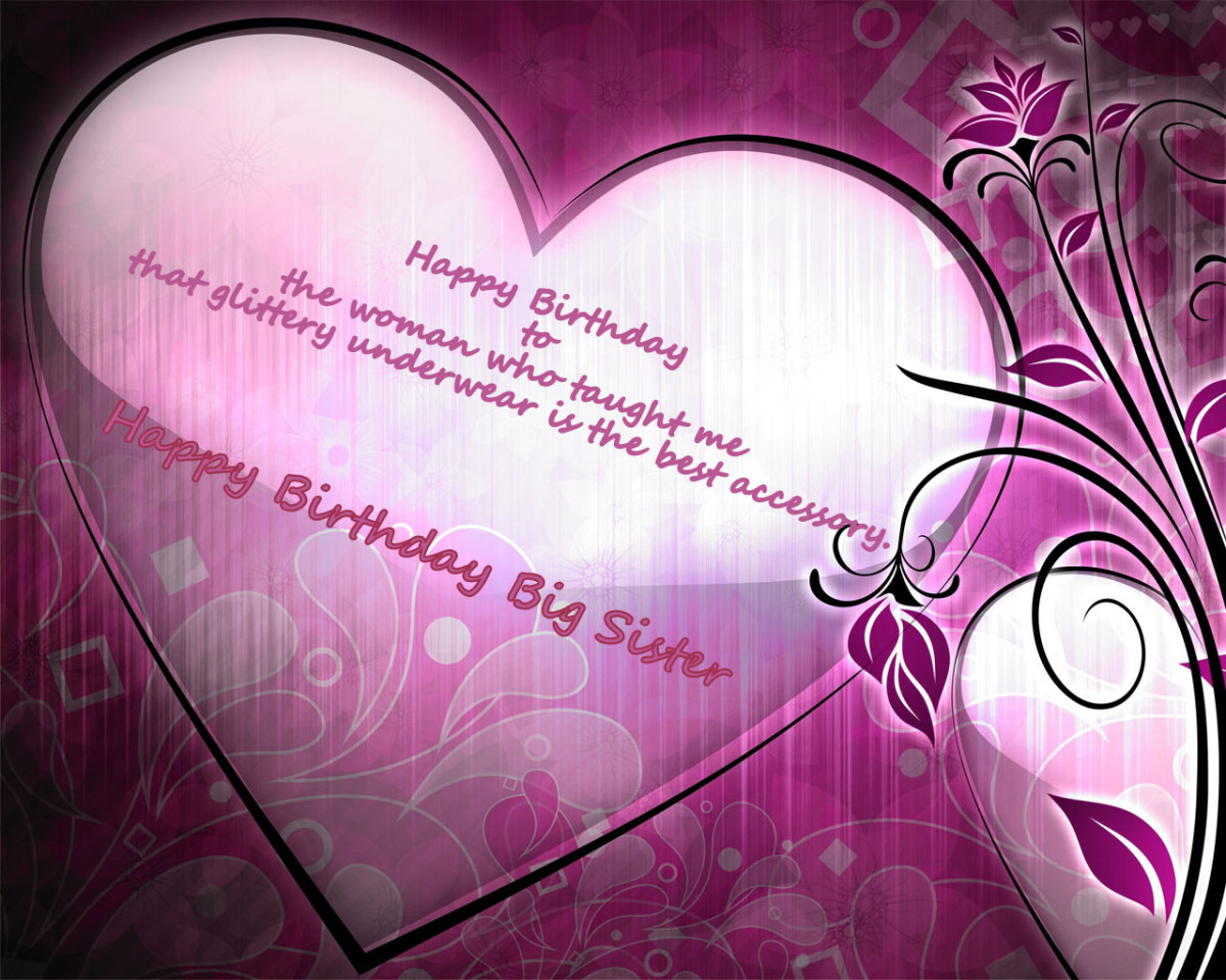 Happy Birthday Wishes and Quotes for Your Sister – Birthday Greetings to a Sister Quotes