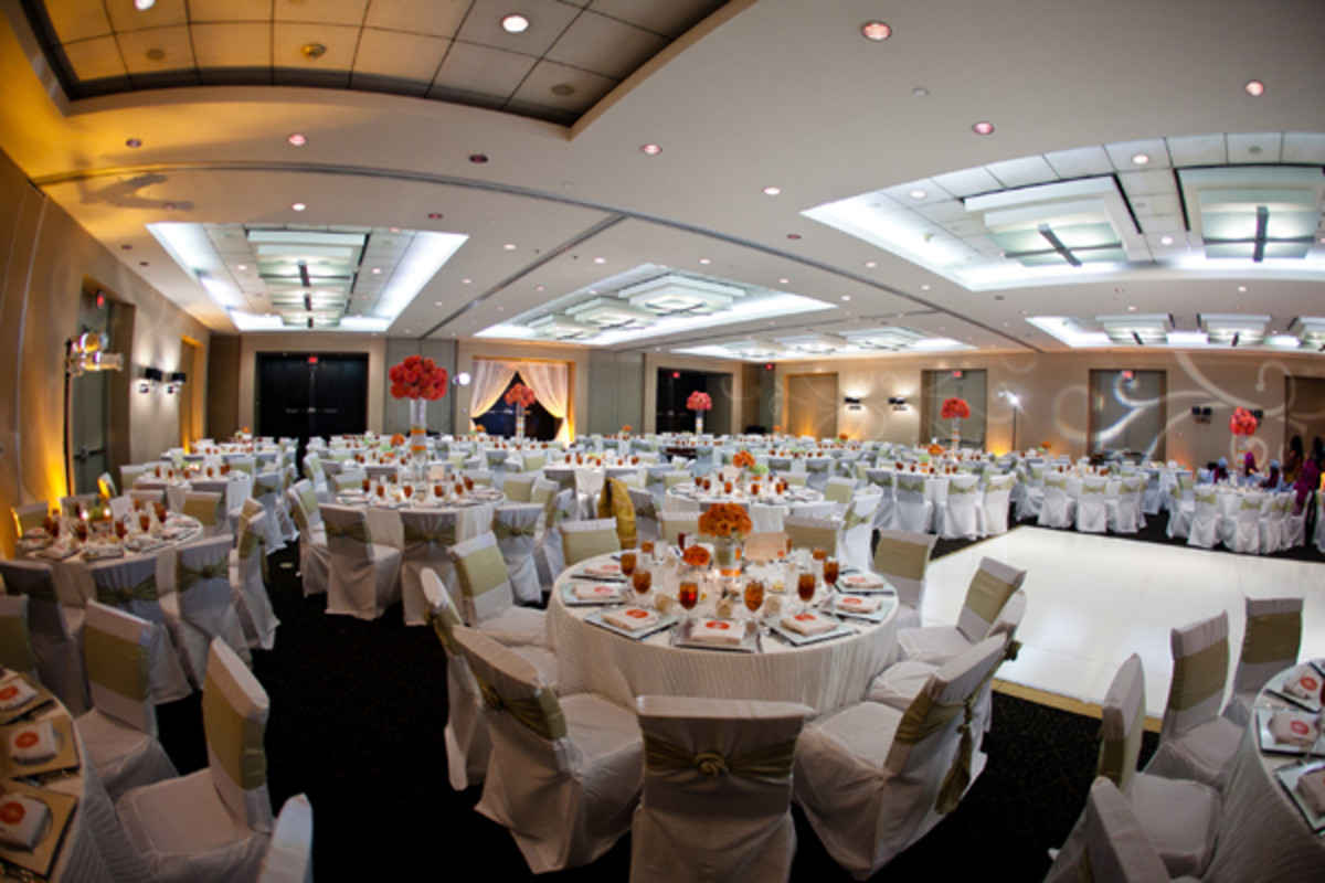 A Yoruba wedding hall.