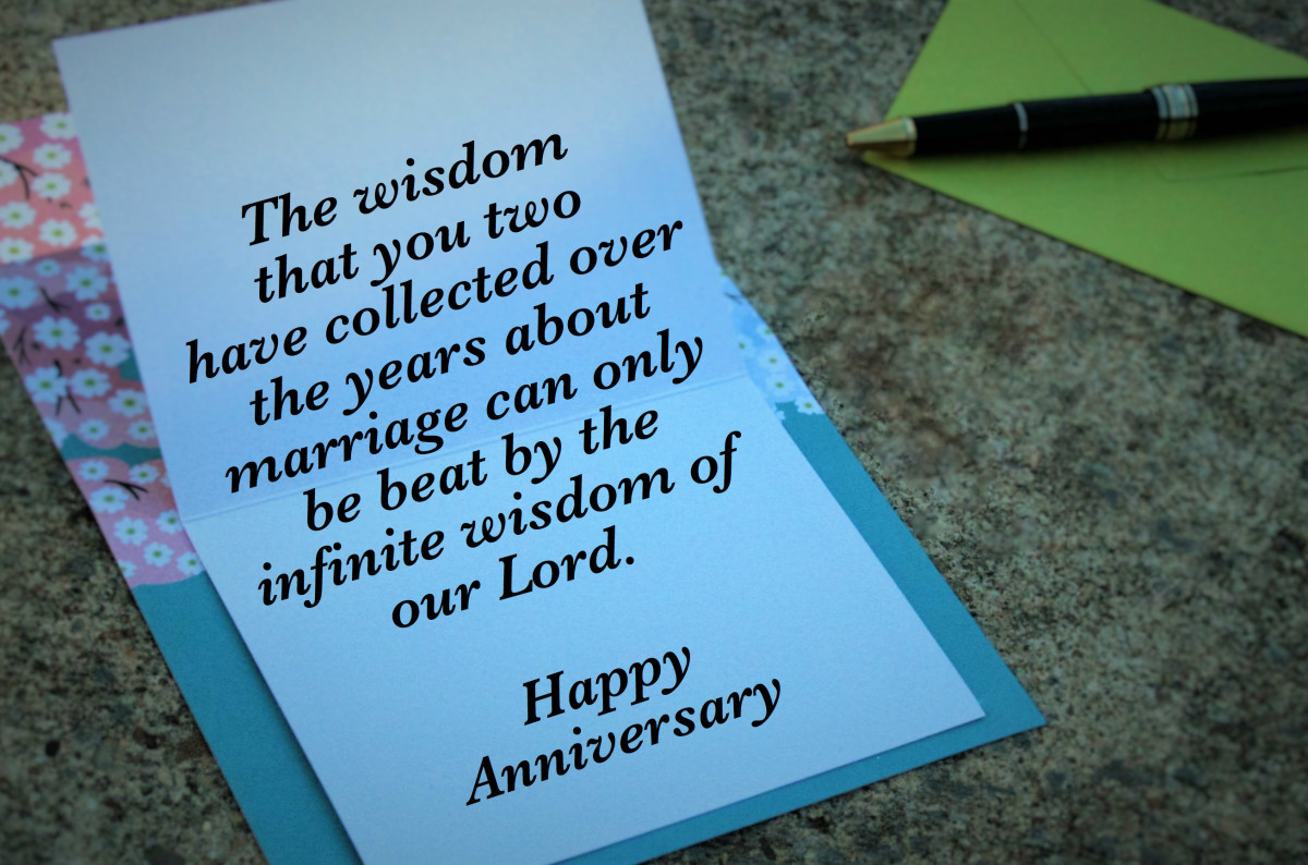 Christian Anniversary Wishes and Card Verses | Holidappy