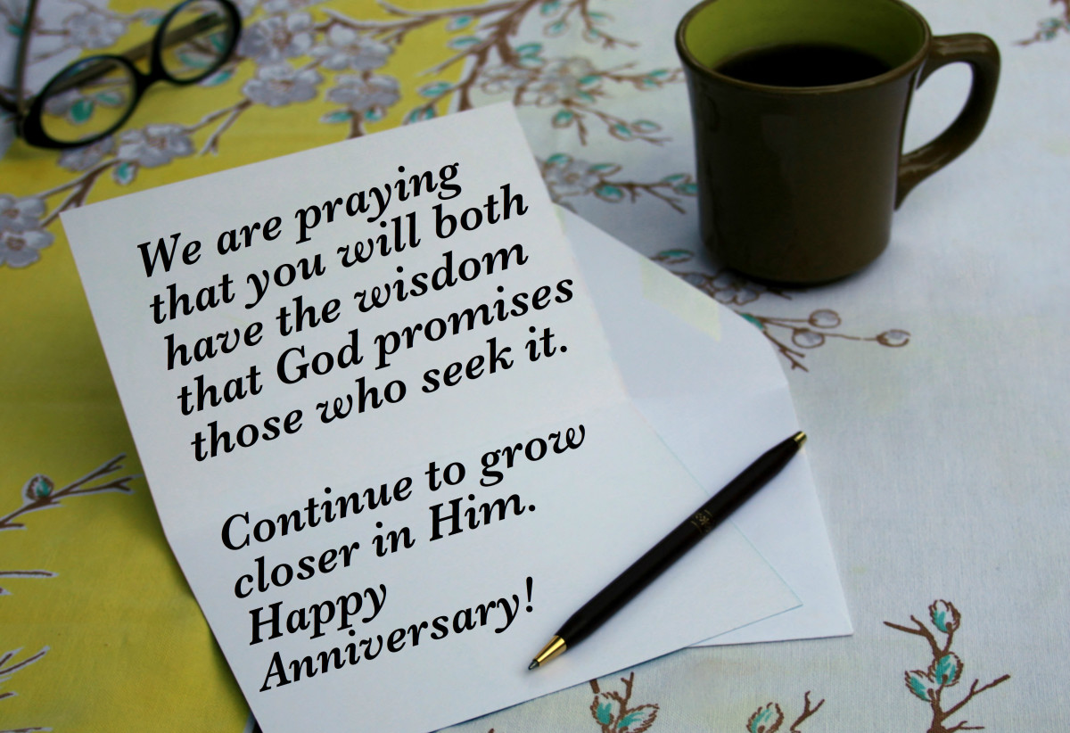 Christian anniversary wishes and card verses holidappy