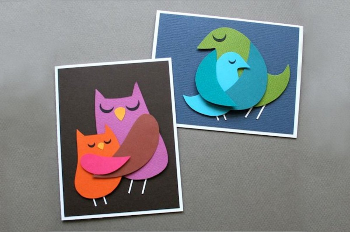 DIY Momma Bird Cards