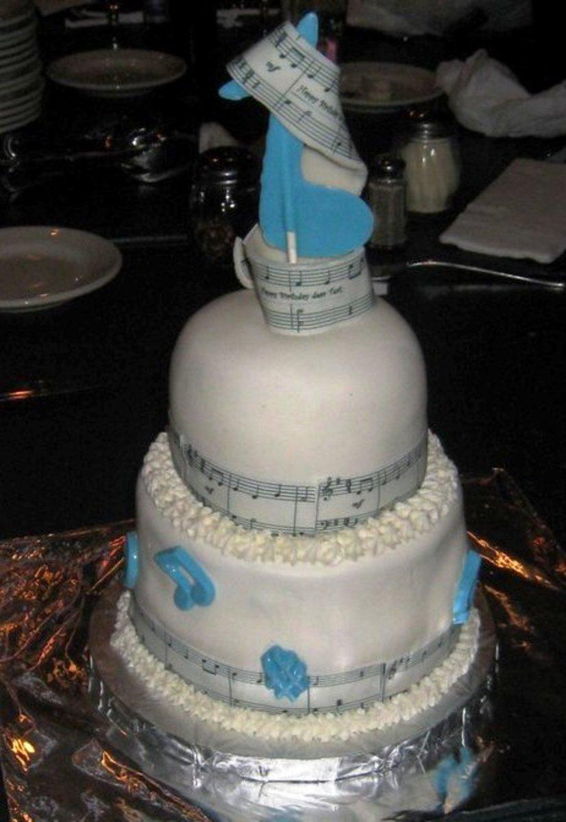 Teri's musical cake