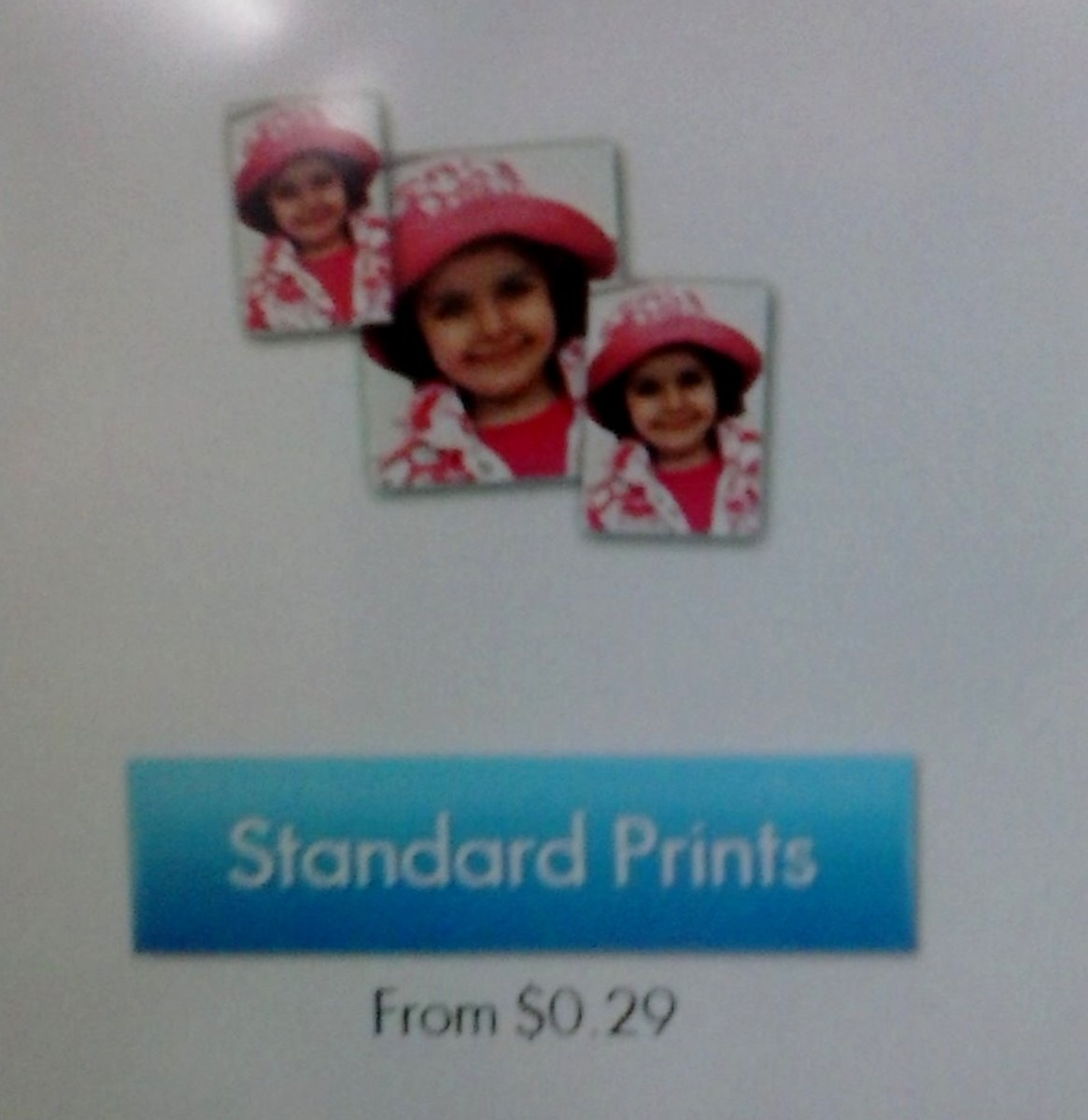 Choose the Standard Print Option. It's the cheapest option and they look great!