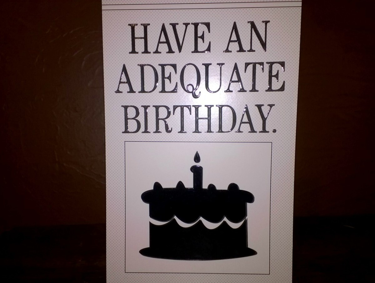 Geminis have the sense of humor to appreciate cards like this...