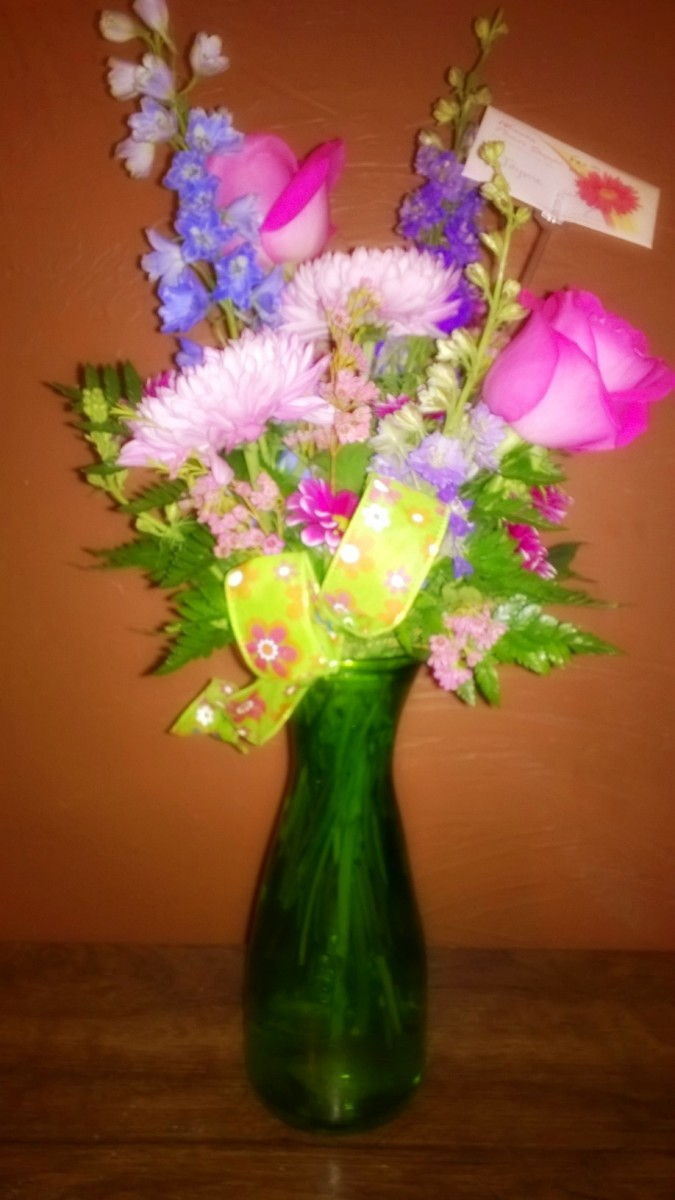 Even evil villain Geminis get soft when their sweethearts bring them birthday flowers.