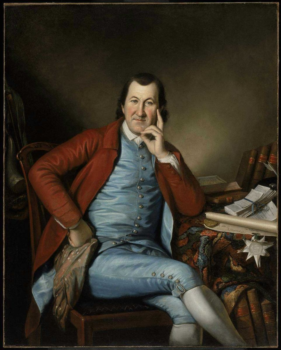 Timothy Matlack, by Charles Willson Peale