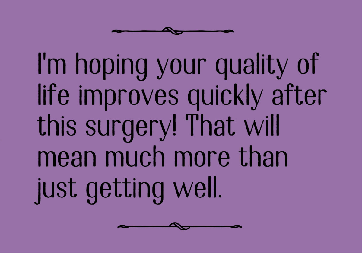 Inspirational Quotes For Someone Having Surgery - Best Quote ...