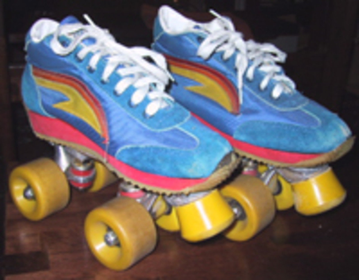Tie on some retro roller skates and boogie down.