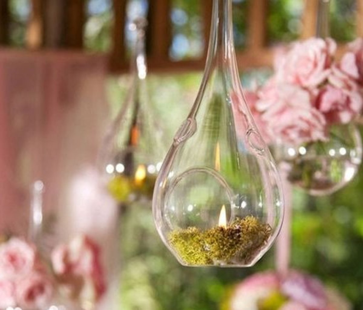 DIY Wedding Table Decoration Ideas   Bird Feeder Candle Lights   Click Pic for 20 Easy DIY Wedding Decorations