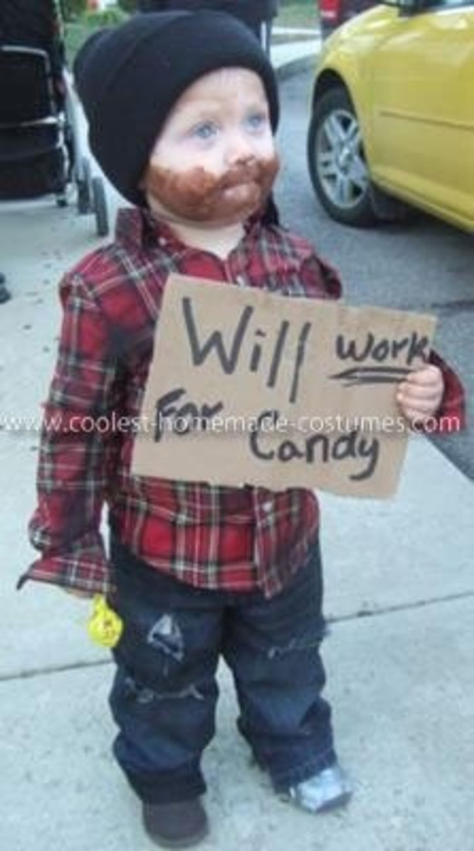Unemployed Kid | DIY Halloween Costume Ideas