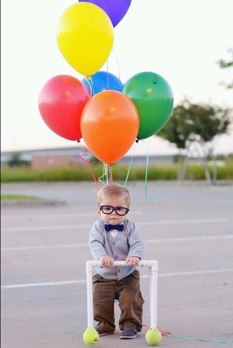 Baby Up Costume | DIY Halloween Costume Ideas