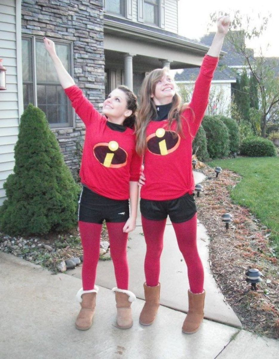 Twin Incredibles Costumes