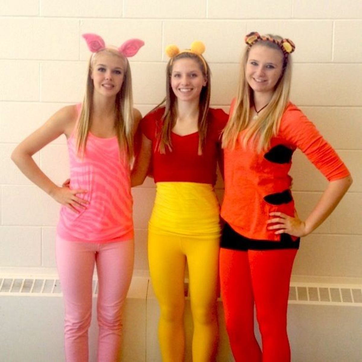 Winnie the Pooh Babes | DIY Halloween Costume Ideas