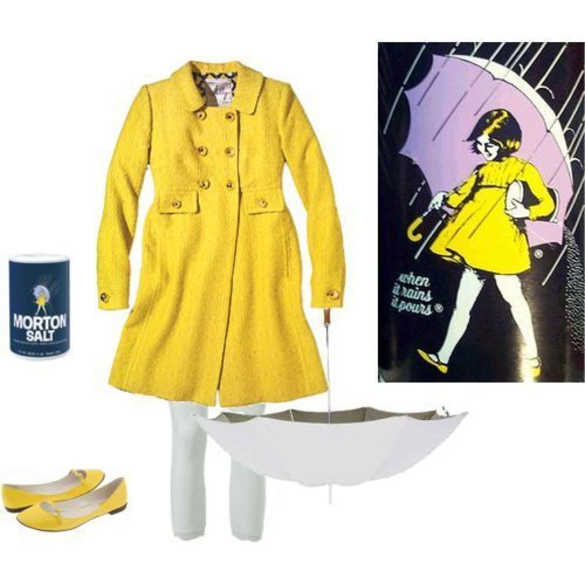 The Morton Salt Girl | DIY Halloween Costume Ideas