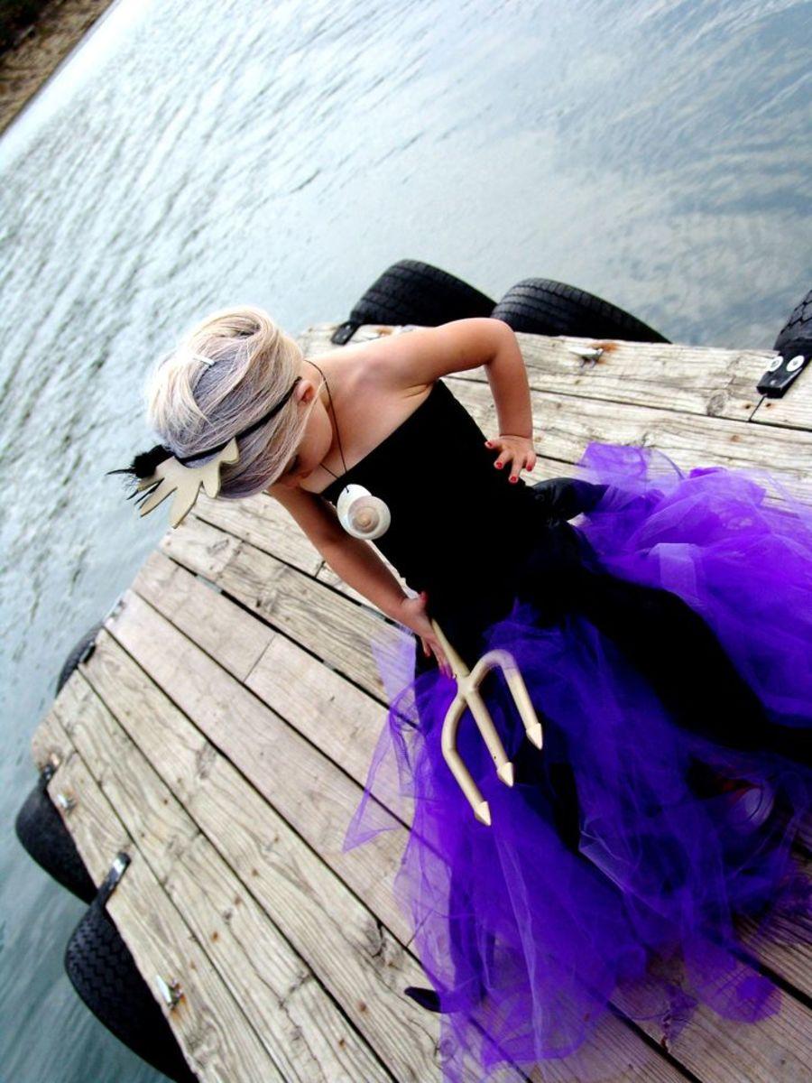 Little Mermaid or Ursula Costume