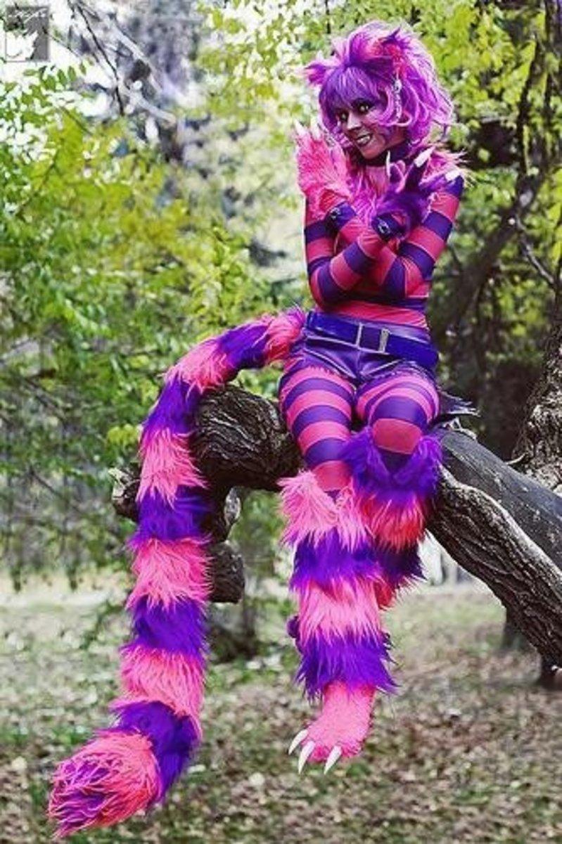 Cheshire Cat | DIY Halloween Costume Ideas