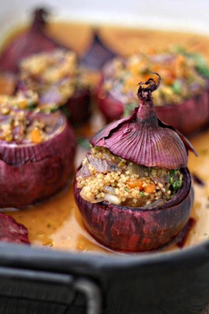 Roasted stuffed onions can be a delicious and unique addition to a Thanksgiving meal.