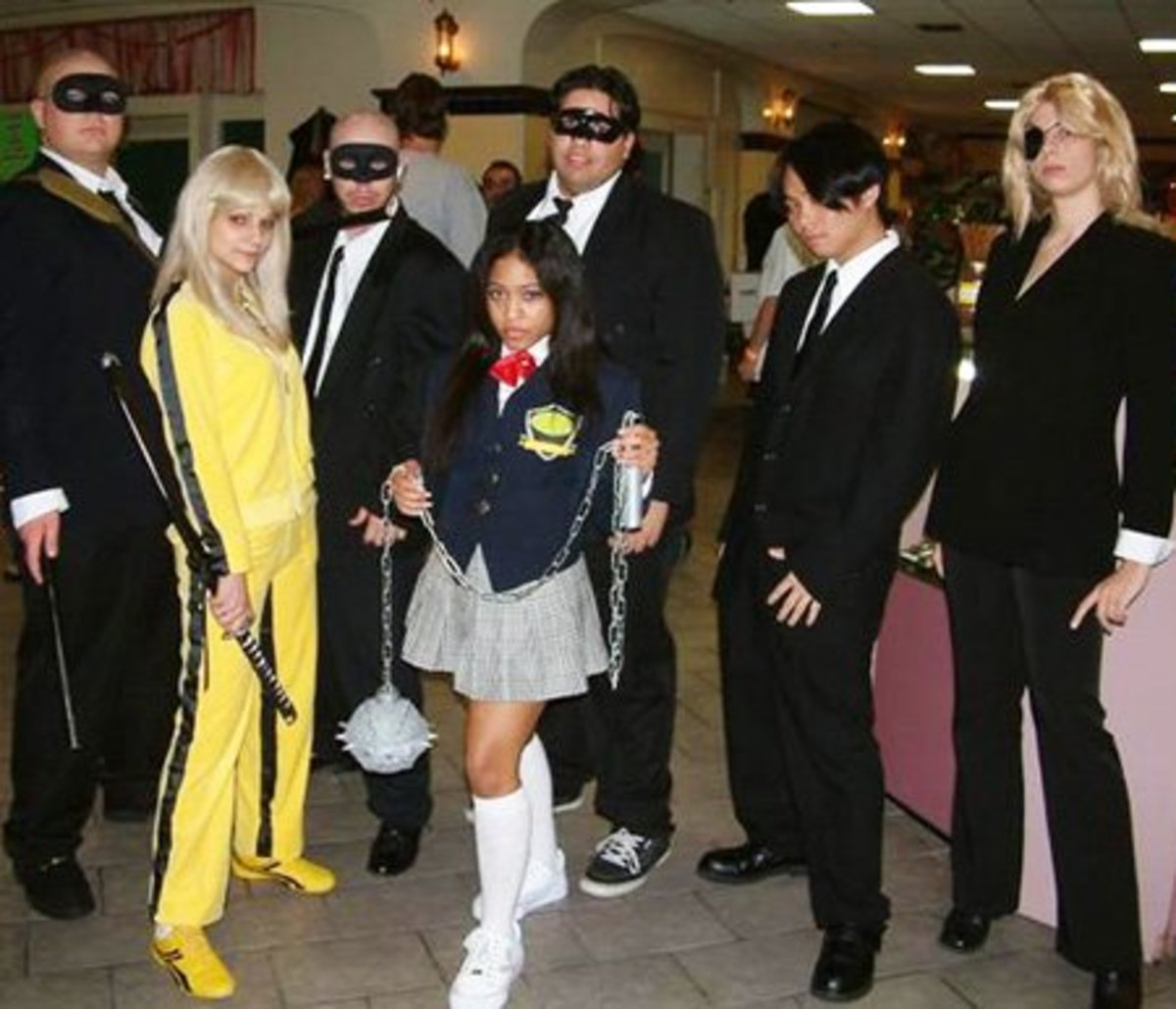 Kill Bill Group Costume