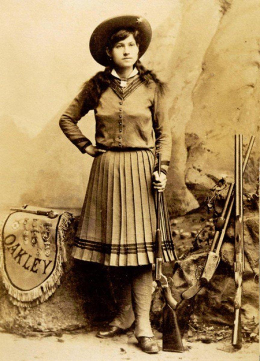 Annie Oakley Sepia Tone Costume