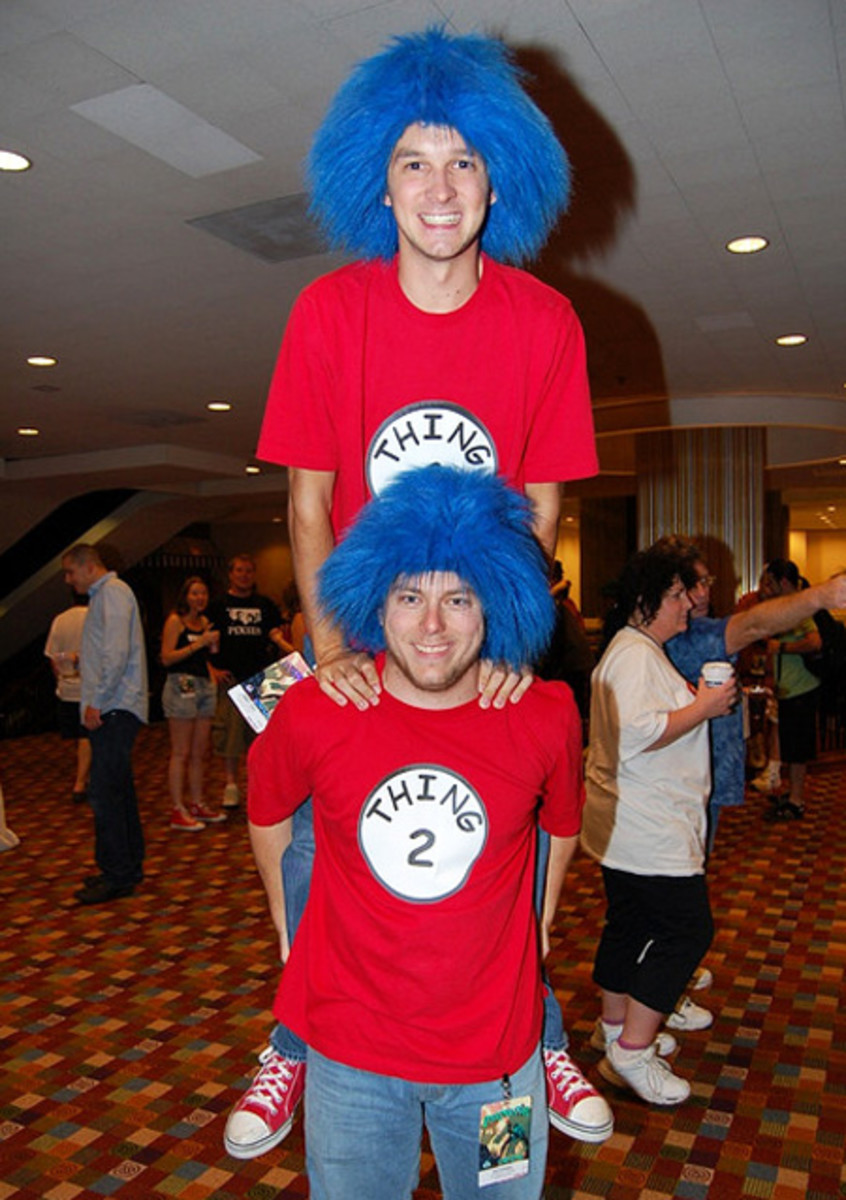 Thing 1 Thing 2 Costume